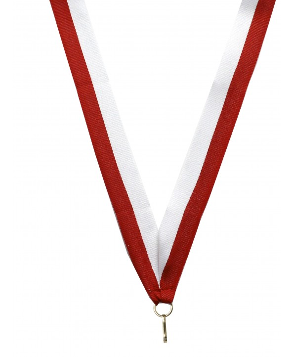 Medaille Lint Rood-wit **