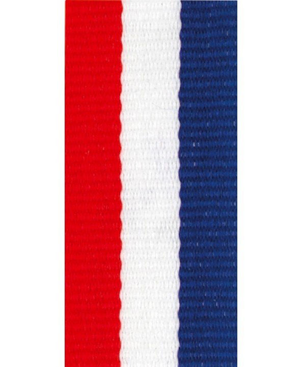 Medaille lint Rood-wit-blauw **