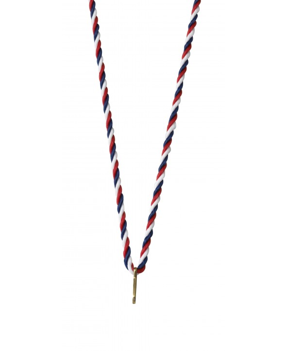 Medaillekoord Rood-wit-blauw **