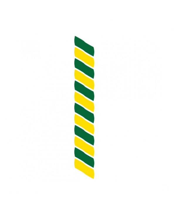 Medaillekoord Groen-geel **
